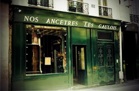 Restaurante en Paris. Nuestros ancestros los galos title=