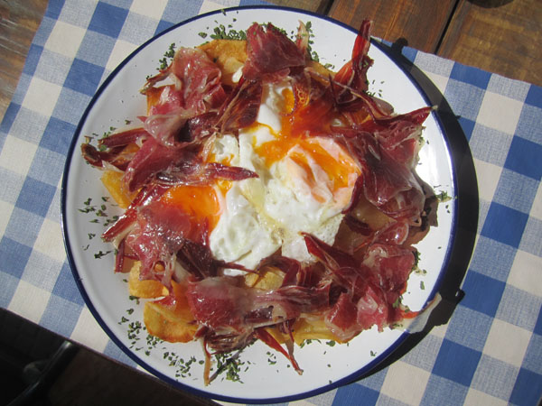 huevos rotos madrid spain